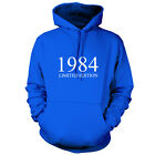 1984 Limited Edition - Unisex Hoodie / Hooded Top 30th Birthday Present / Gift