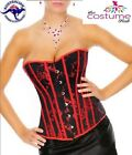 NEW Sexy Red Lingerie Lace Up Corset Bustier 8-14