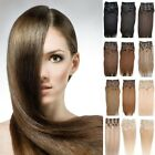 "New 20"" 26""160g 10pcs/Set Real Remy Human Hair Clip In on Human Hair Extensions"