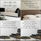 LARGE WALL STICKER QUOTE BOB MARLEY CHOICE 4 NEW BESPOKE DESIGNS DECAL TRANSFER
