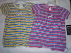AMERICAN LIVING 3 Month Baby Girls Stripe Yellow or Pink Romper Outfit NWT