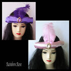 HAT - ARABIAN headband with feather Belly Dance HAREM Costume JEANNIE