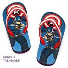 Disney Store Captain America Flip Flops NWT All Sizes Available!