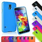 Color TPU Rubber Gel Case Cover Skin For Samsung Galaxy S5 S V