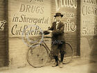 1913 SHREVEPORT PHARMACY DELIVERY BOY CHILD LABOR PHOTO
