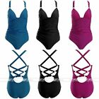 Fashion Sexy Women's One-piece Bandage Push Up Monokini Bikini Swimsuit Swimwear