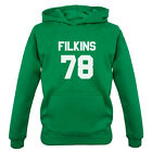 Filkins 79 - Kids / Childrens Hoodie - Zach - Republic - 7 Colours