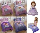 DISNEY SOFIA THE FIRST BED IN A BAG / COMFORTER SET - IN 4 PRINTS
