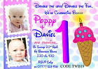 Personalised Twins Girl Boy 1st Birthday Party Invitations - Or Thank You Cards