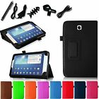 For Samsung Galaxy Tab 3 7.0 inch SM-T217S Leather Stand Case Cover 7in1 Bundles