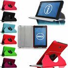 360 Rotating Leather Stand Cover Case for Dell Venue 7 7-inch Android Tablet