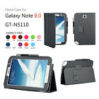 Leather Case Cover and Screen Protector for Samsung Galaxy Note 8.0