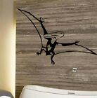 LARGE DINOSAUR DINO PTERODACTYL WALL STICKER NEW ART UK TRANSFER VINYL MATT
