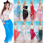 sexy Chiffon Wrap Dress Sarong Beach Swimwear Cover Up Ladies Bikini Scarf