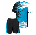 2014 NEW Victor men's table tennis clothing/Badminton Set shirt + shorts 2055A