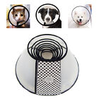 7 Size Dog E-Collar Elizabethan Wound Healing Cone Protection Collar