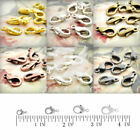 30g Zinc Alloy Hooks Lobster Claw Clasps 10/12/14/15mm Jewelry Finding Wholesale