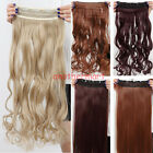 us creative style one piece clip in hair extensions heat resistant women DIY