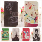 1x PU Housse Cuir Etui Coque Protection Case Cover Skin Pour Samsung Smartphone
