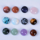 Wholesale 14mm Round cabochon CAB flatback semi-precious gemstone Save $ in bulk