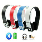 Wireless Stereo Bluetooth Headset Headphone for Samsung Galaxy S3 S4 NOTE iPhone