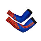 Cheji Cycling Sports Absorb Sweat Bike Long Arm Sleeve Spider-Man Cover Sun Men
