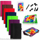 For Samsung Galaxy Tab 4 8.0 8 inch Tablet Leather Case Cover + Screen Protector