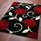 New Modern Extra Large Small Cheap Quality Red Colourful Thick Rugs Runners