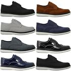 Mens New Casual Black Leather Smart Formal Lace Up Shoes UK SIZE 6 7 8 9 10 11