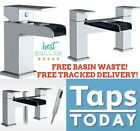 Cascade Waterfall Bathroom Tap Set, Basin Mixers, Bath Filler, Shower Mixers Tap