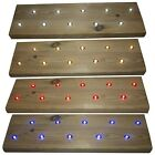 Woodside Set Of 10 15mm LED Decking Deck Plinth Lights Aluminium