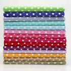 6/7MM JEWEL DOT - 100% COTTON POLKA DOTS SPOT FABRIC ALL COLOURS patchwork craft