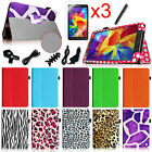 "For Samsung Galaxy Tab 4 7.0"" SM-T230NU Multi-Color Leather Case Cover + Bundles"