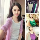 Vest Camisole Spaghetti Strap Blouse Women Tank Top Sleeveless Shirt Cami Tops