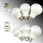 E27 B22 Edison LED Cool White/ Warm White LIGHT BULB GLS Style 7/9/12 Watts UK