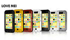New LOVE MEI Shock/Water Proof Aluminum Metal Case Cover for iPhone 5C SYUK