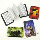 Warriors Credit Card Sized Magnetic Address Book (Choose Your Fighters) ~ New