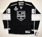DREW DOUGHTY 2014 STANLEY CUP LOS ANGELES KINGS REEBOK JERSEY SEWN CUP PATCH