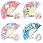SANRIO HELLO KITTY POCHHACO JEWELPET MY MELODY FOLDABLE PAPER FAN 3587