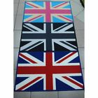 Machine Washable Small Cheap Non Slip Union Jack England British Flag Door Mat