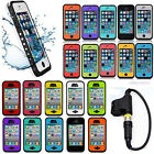 Waterproof Shockproof Dirt Proof Durable Case Cover For Apple iPhone 4 4S 5C 5S