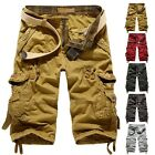 New Men's Men Relaxed Fit Army Cargo Baggy Shorts Summer Cool Pants Shorts