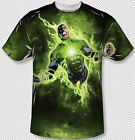 Green Lantern John Stewart Power Surge All Over Front Sublimation Youth T-shirt