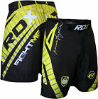 RDX Shorts UFC MMA Grappling Short Kick Boxing Mens Muay Thai Pants Gym Wear YB