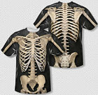 Skeleton Model Structure Costume All Over Print Sublimation Youth T-shirt Top