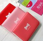 New 24 Cards bowknot Soft leather Credit ID Card Holder Wallet AD118