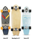 "Two Bare Feet ""The 829"" Complete 29"" x 8.5"" Carving Cruiser Skateboard"