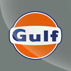 Gulf Vintage Style Vinyl Decal Sticker Gasoline Petroleum Racing - CHOOSE A SIZE