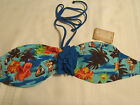 ARIZONA Junior Size S M or L Choice Tropical Bandeau Swim Bra NWT Swimwear