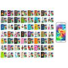 For Samsung Galaxy S5 TPU Design Soft Silicone Case Cover + Screen Protector